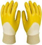 Kesztű 9-es nitril eco szellőző sárga