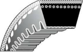 10- 500 Li/522 Lp optibelt fogazott ZX-19,75