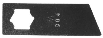 MTD V40E, VE30, VE40 Gyepszellőztető kés