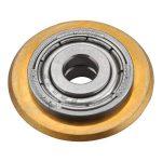 vágókerék a 4770808, 4770810, 4770812 csempevágókhoz, titánium-volfrám-karbid, 22×6×5mm, csapágyas