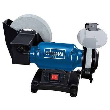 Scheppach BG 200 W Kettős köszörűgép 250W száraz-nedves